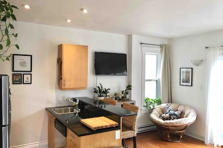 Sunny Downtown Halifax Condo with Parking