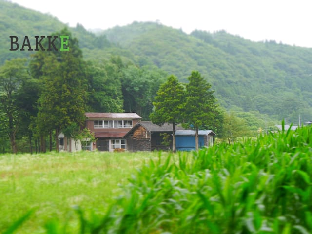 BAKKE◆日本RETRO鄉間別墅◆站接送