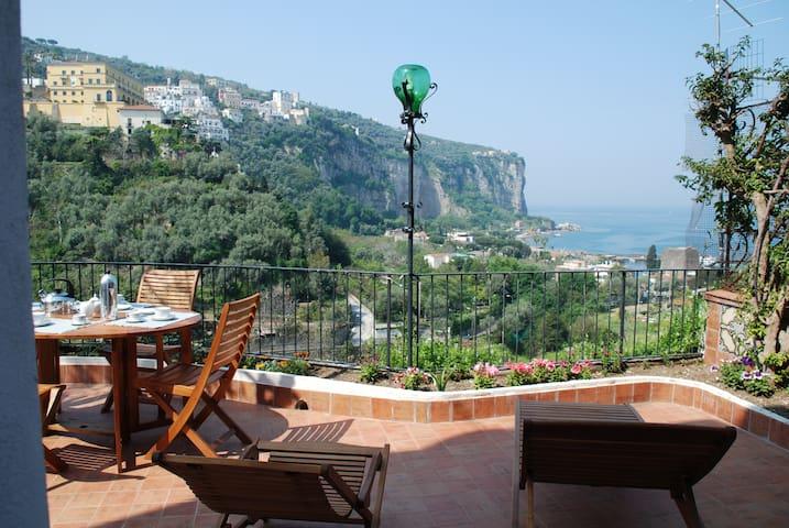 Villa very charming and panoramic