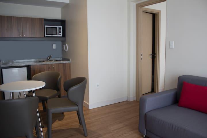 Apartamento 2 ambientes con terraza en hotel