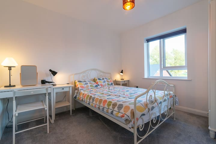 Double room in contemporary house