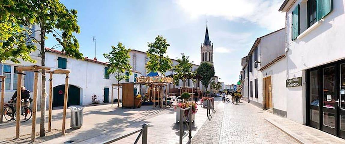 滨海拉库阿尔德 (La Couarde-sur-Mer)的民宿
