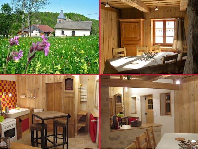 La Cluse-et-Mijoux的民宿
