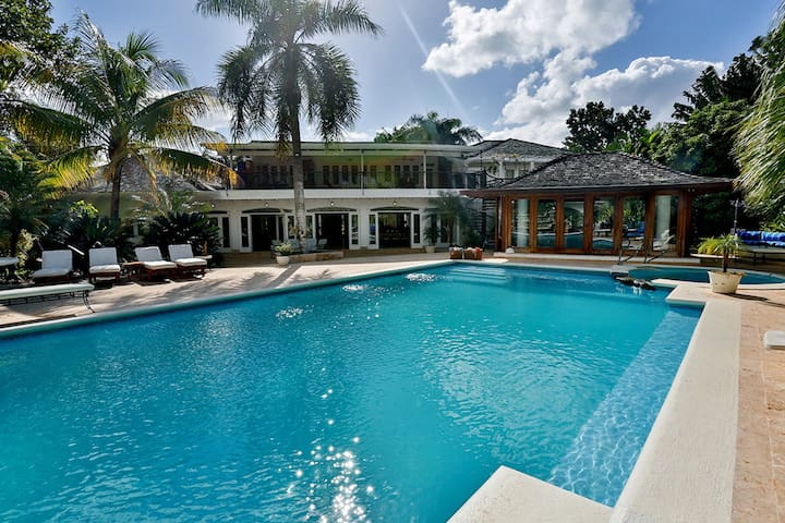 CHEF INCLUDED! Luxury Golf-Front Mansion Estate!