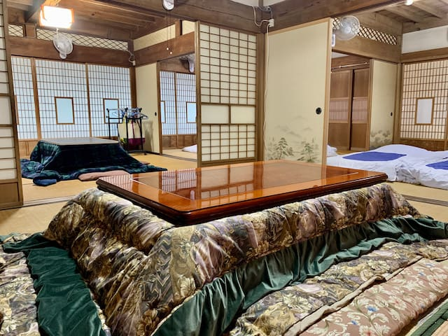 Kiyomizu House 1F❀Private estate 1½ hrs from Tokyo