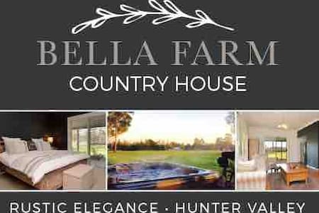 Bella Farm Country House with Jacuzzi and Firepit