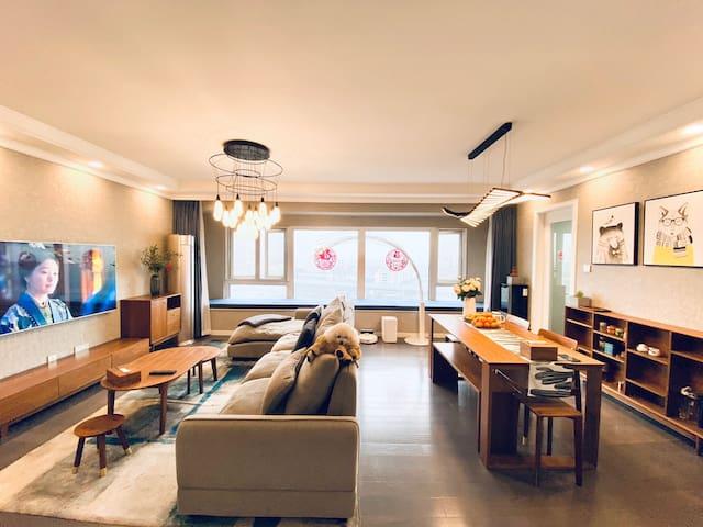 杭州翁梅地铁站旁金地艺境北欧卧室