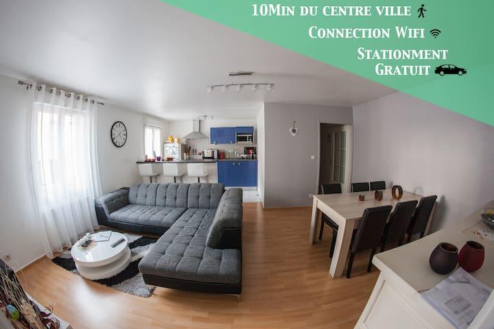 瓦朗谢讷 (Valenciennes)的民宿