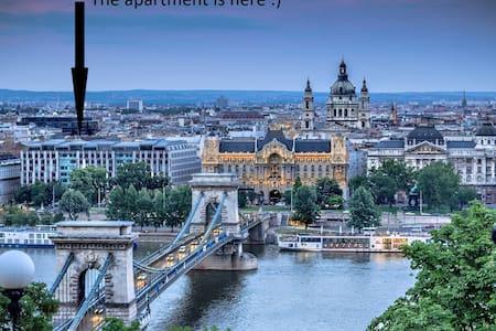 N14 60m2 Budapest City Center 2 Bedroom, + LivingR