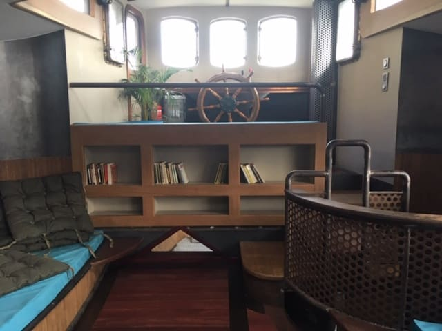 ATYPICAL BOAT AND FULL OF CHARM - BOULOGNE BILLANCOURT - 4 PEOPLE