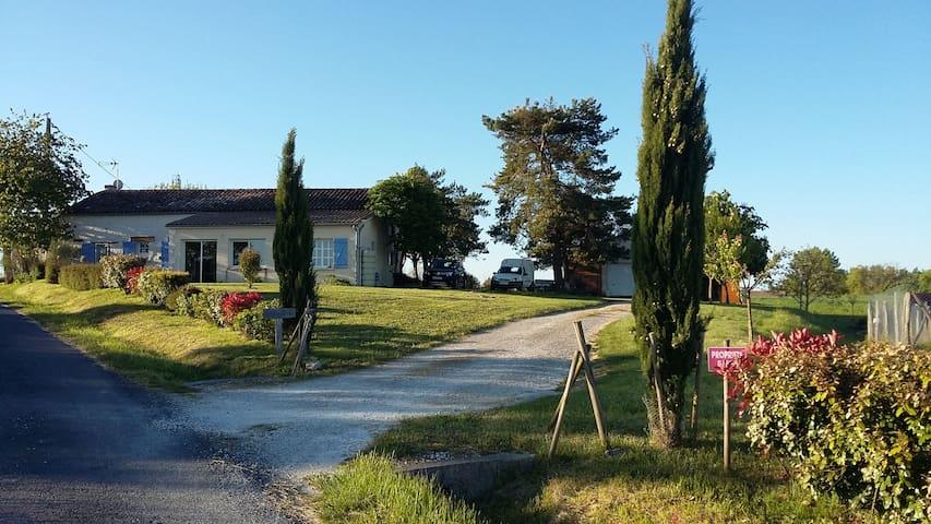 Monmarvès的民宿