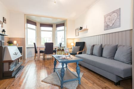 Charming apartment view on Damse vaart near Bruges
