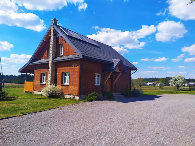Huta Różaniecka的民宿
