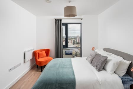Elegant 1 bed flat near Five Ways, Birmingham