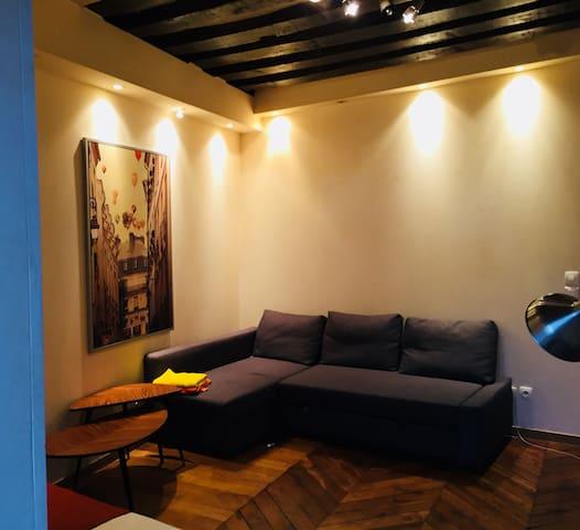 Cosy studio in the real center of Paris !