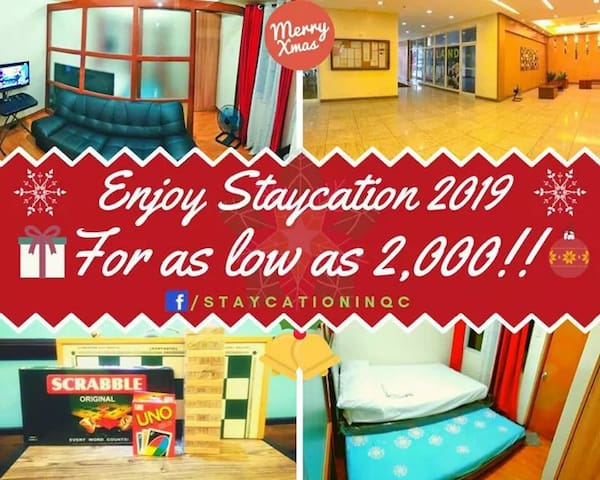 Affordable Staycation In QC - Accessible to ALL!