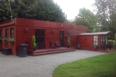 Chalet in secluded area in Gaerwen