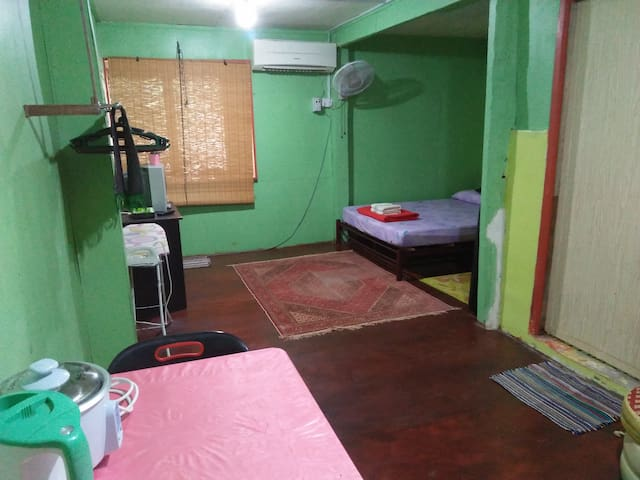拉哈达图的民宿
