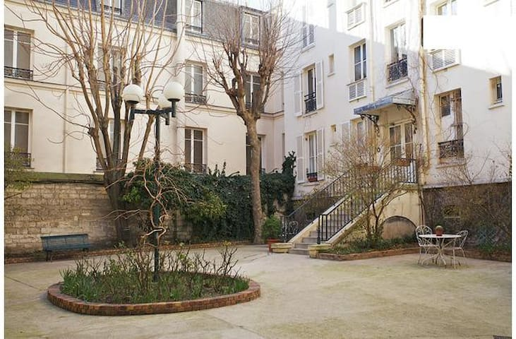 Charming studio Paris, Montmartre 2 people