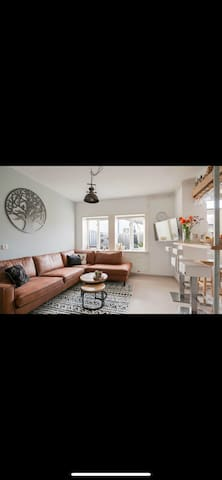 Beautiful apartment with garden NDSM area
