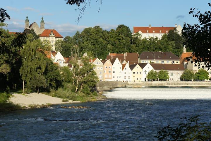 莱希河畔兰茨贝格的民宿