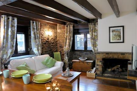 Cozy 1 bedroom apt with fireplace