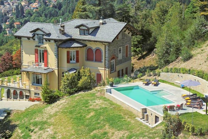 Spacious Villa in Premeno with Private Swimming Pool