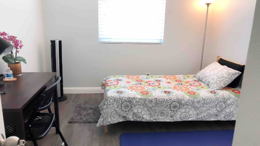 Private Bed and Bath, multi week business visitors