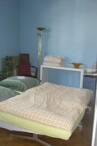 Big room, central for 1 - 2 persons