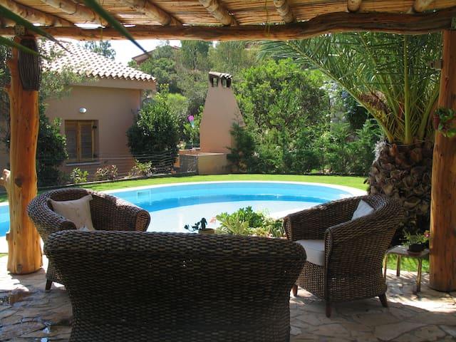 small villa with private swimming