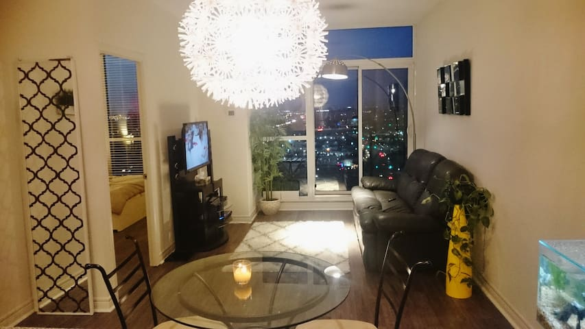 Fully furnished ONE BEDROOM PENTHOUSE MISSISSAUGA