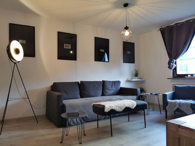 Ruhige Single-Wohnung am Waldrand Nähe Allee
