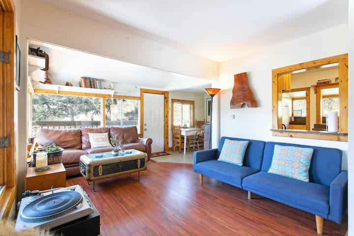 Bright-Modern Cabin in Heart of Evergreen
