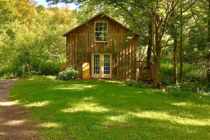 Cozy Cazenovia Creek Cottage - Private Retreat!