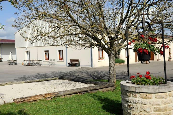 Celles-sur-Ource的民宿