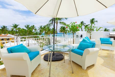 Ocean View Apartment with Private Terrace & BBQ