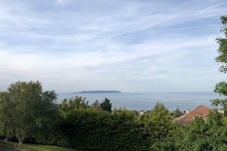 Dalkey Hill apartment, with stunning bay view.