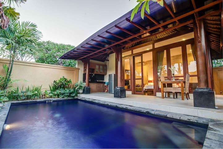 带私人泳池的浪漫1卧别墅