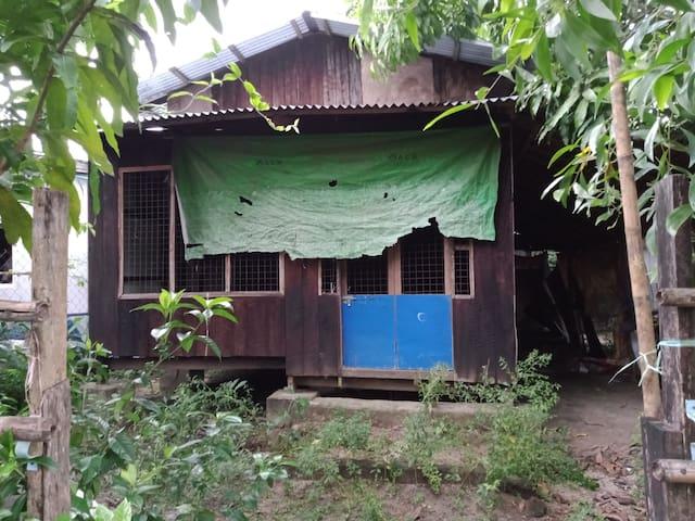 The Little House Myaungmya by Mr. Ham