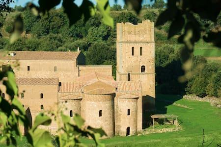 San Giusto Abbey { medieval Tower }