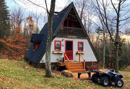 Adirondack Mountainside A-Frame