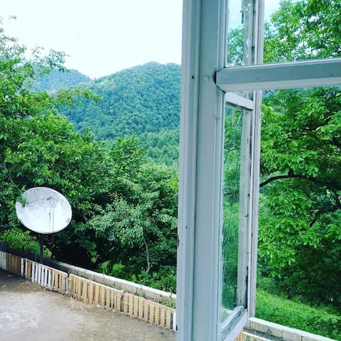 Azerbaijan,Mountain and wonderful forest village