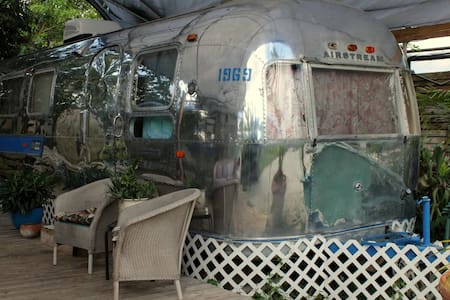 1969 Vintage Airstream near Everglades