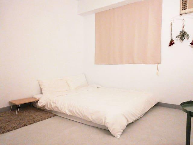 101大樓旁極簡風臥房Taipei 101 nearest minimalist bedroom