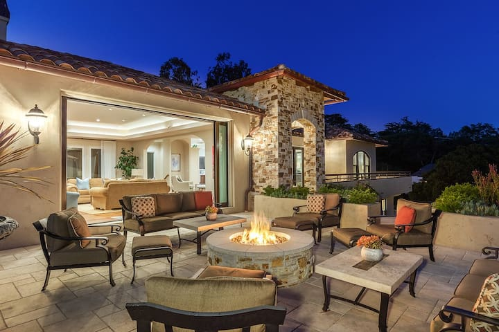New, Luxury, Gated Home in Carmel-by-the-Sea