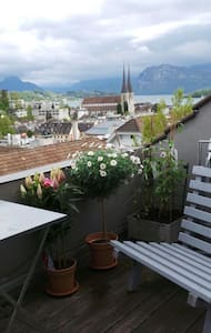 Over the rooftops of Luzern