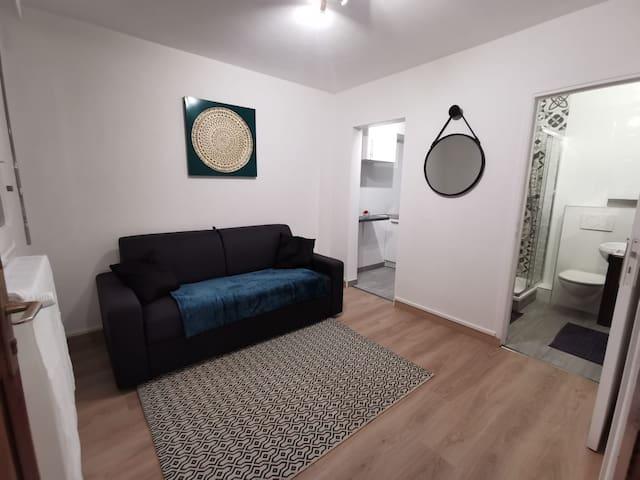 Studio proche ORLY/ MASSY/SANOFI tout confort.