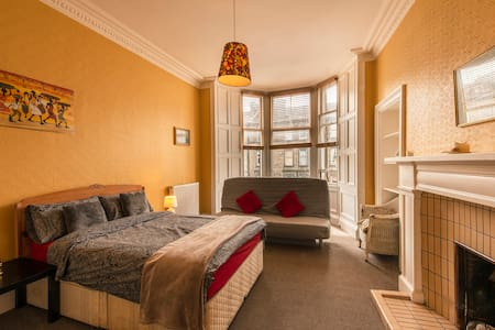Central Location: Large Private Bedroom.