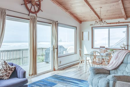 Oceanfront home in Cannon Beach