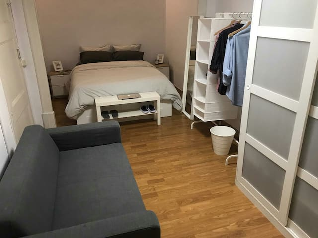 Habitación Doble Plaza España. Excelente ubicación